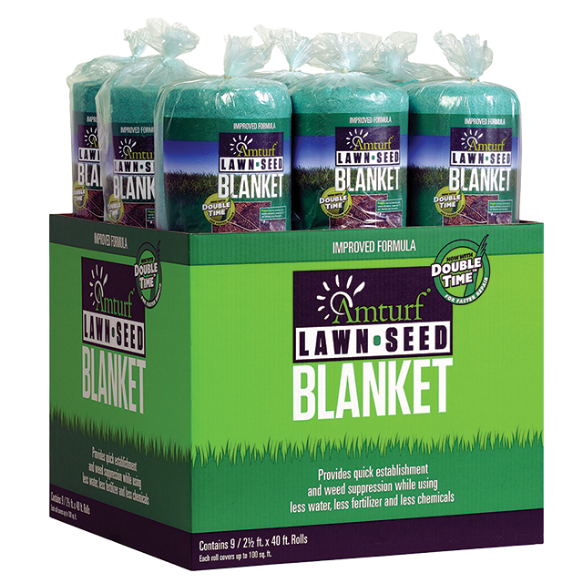 Amturf Lawn Seed Blanket